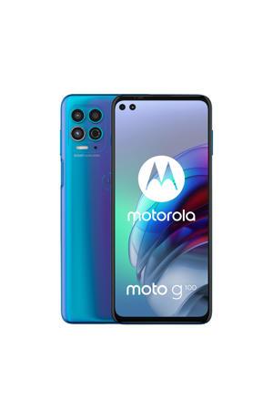 Moto G100 smartphone (blauw)