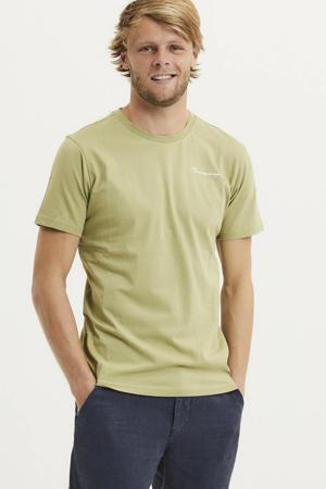 T-shirt Alder van biologisch katoen groen