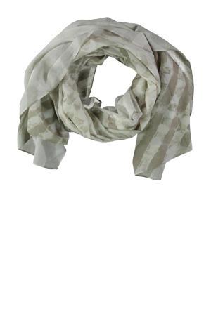 sjaal wit/beige