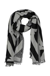 Expresso sjaal Bobby zwart/grijs, Zwart/grijs