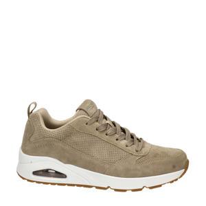Street  suède sneakers beige