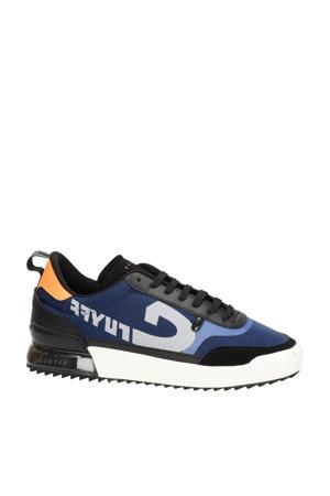 Contra  sneakers blauw/oranje