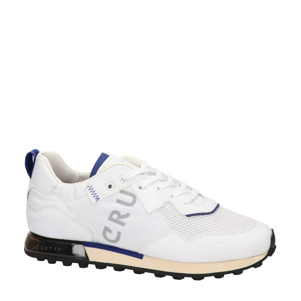 Cruyff Superbia  sneakers wit, Wit/blauw