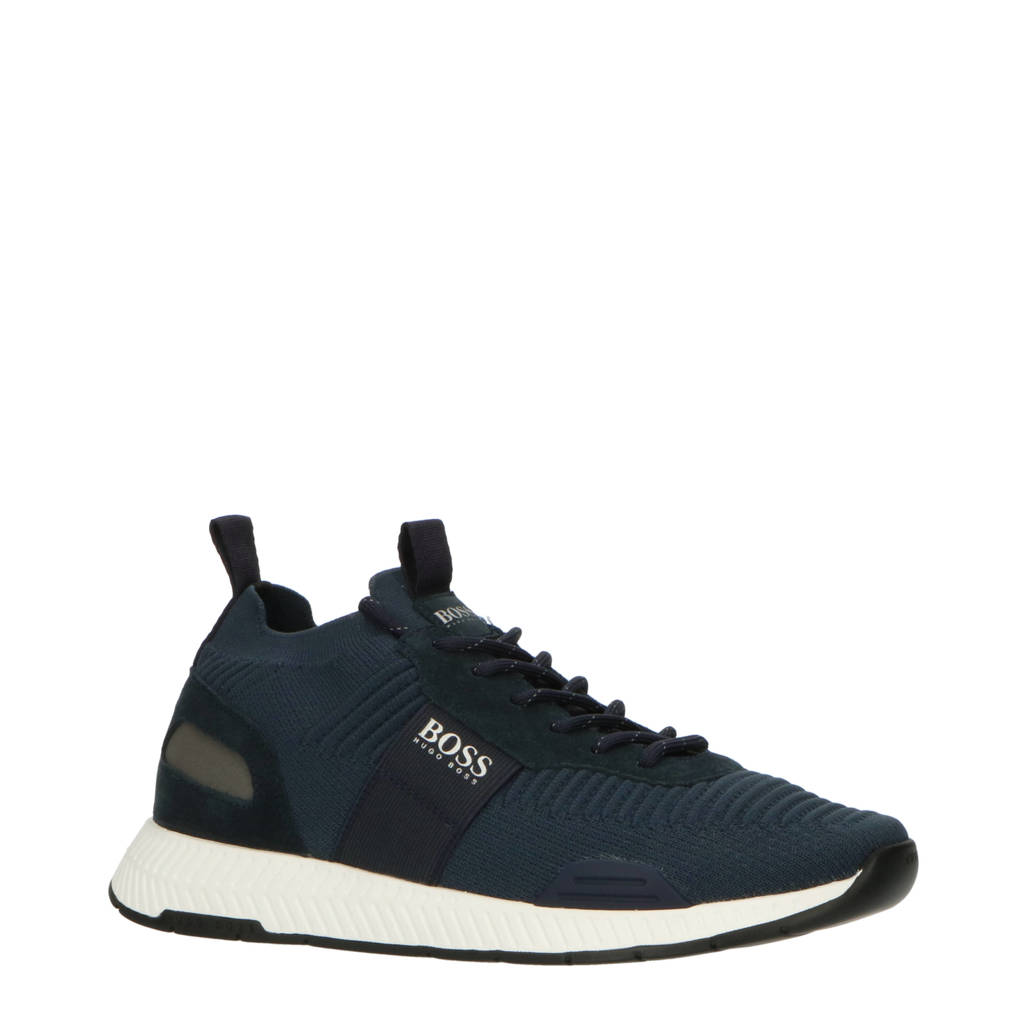 BOSS Saturn Low  sneakers donkerblauw, Donkerblauw