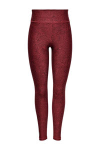 ONLY PLAY sportlegging ONPAFIA rood, Rood