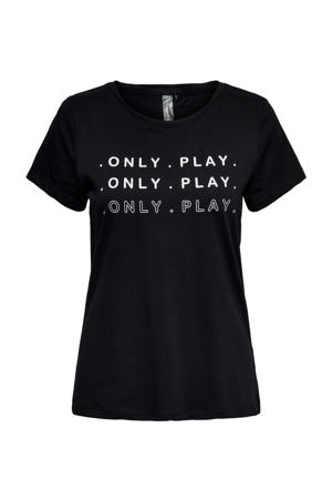 T-shirt ONPSEI zwart
