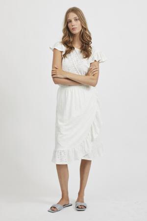 top VIKAWA van gerecycled polyester wit