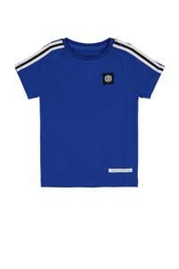 Vingino Daley Blind T-shirt Hislan met contrastbies hardblauw/wit, Hardblauw/wit