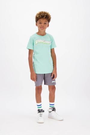 regular fit sweatshort Rannis grijsblauw