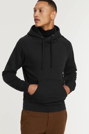 hoodie van biologisch katoen off black
