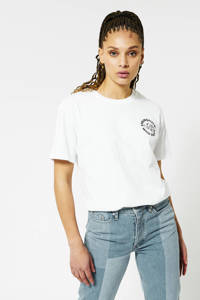 America Today T-shirt Eleanor met tekst classic white, Classic White