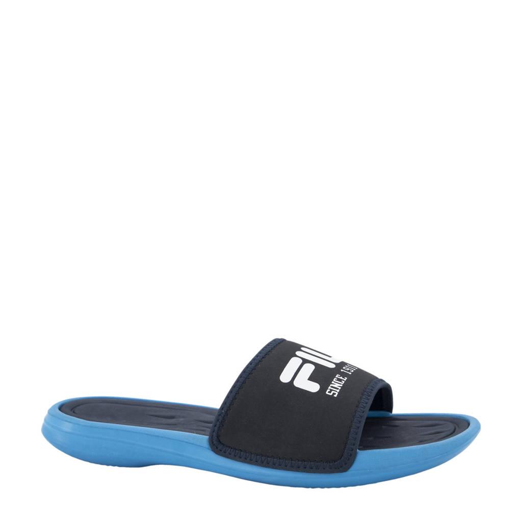 Fila   badslippers kobaltblauw/blauw, Blauw