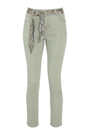 skinny jeans lichtgroen