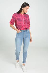Cassis slim fit jeans blauw, Blauw