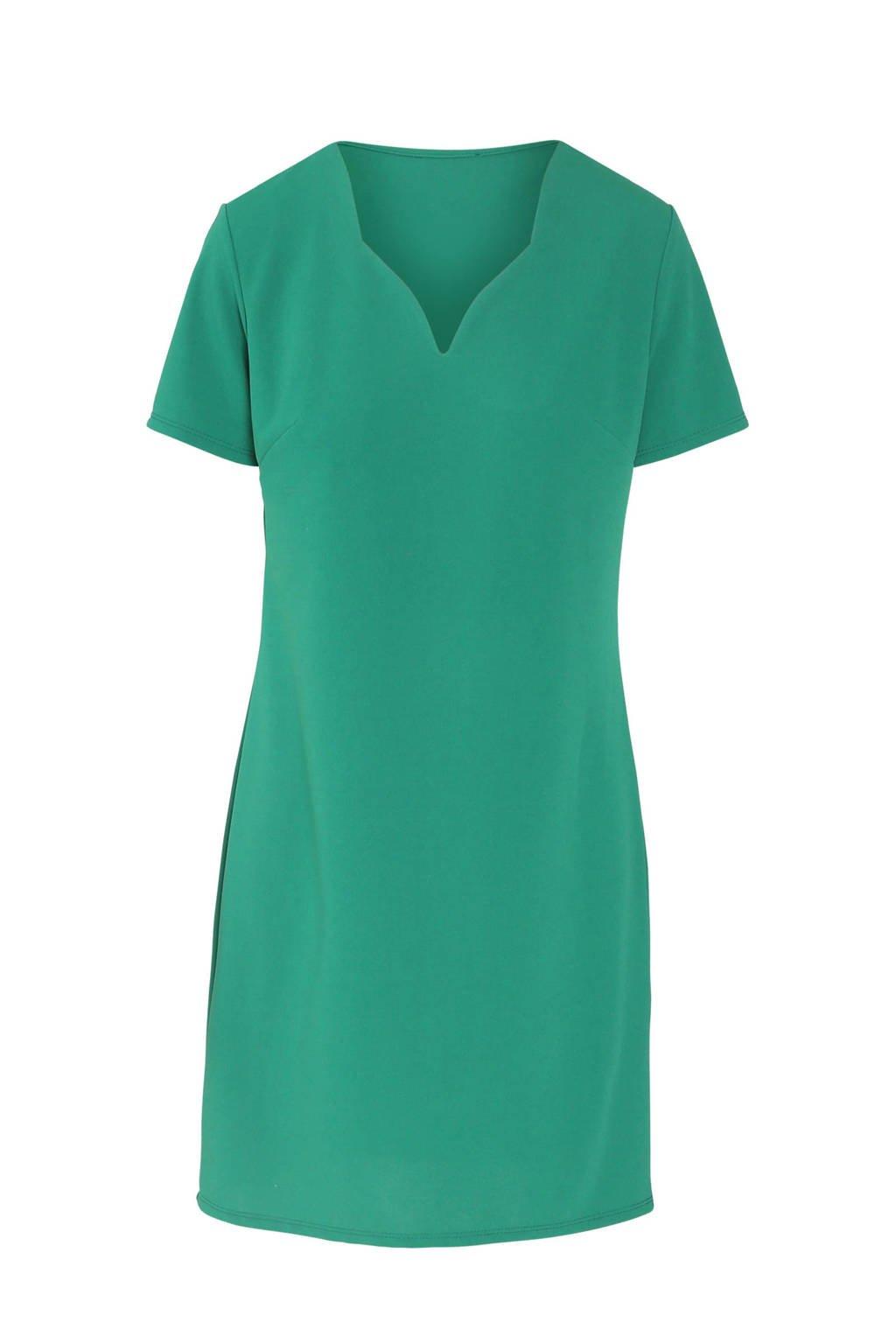 Cassis jurk groen, Groen