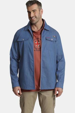 overshirt SIR REEVES Plus Size blauw