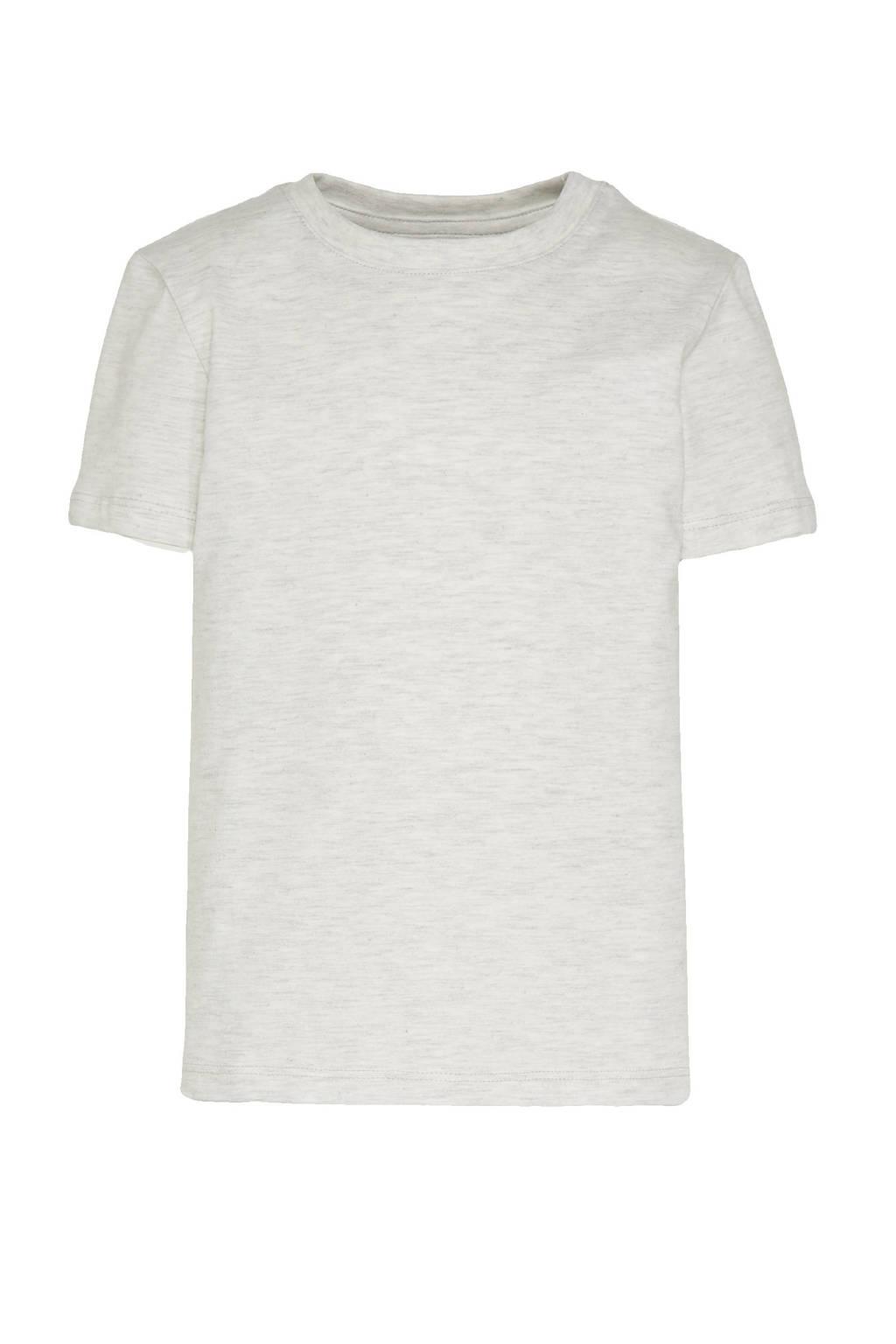 C&A Tough Team T-shirt - set van 3 blauw/zwart/lichtgrijs melange, Donkerblauw/blauw/lichtgrijs melange