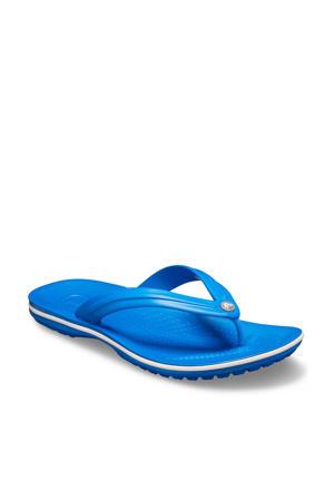 Crocband Flip teenslippers kobaltblauw