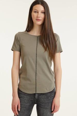 T-shirt van biologisch katoen grijs