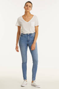 anytime high waist skinny jeans, Light denim