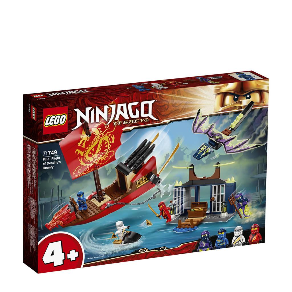 LEGO Ninjago Laatse vlucht van de Destiny's Bounty 71749