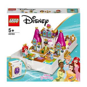 Ariel, Belle, Assepoester en Tiana's verhalenboekavontuur 43193