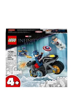 Captain America en Hydra confrontatie 76189