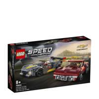 LEGO Speed Champions Chevrolet Corvette C8.R racewagen en 1968 Chevrolet Corvette 76903