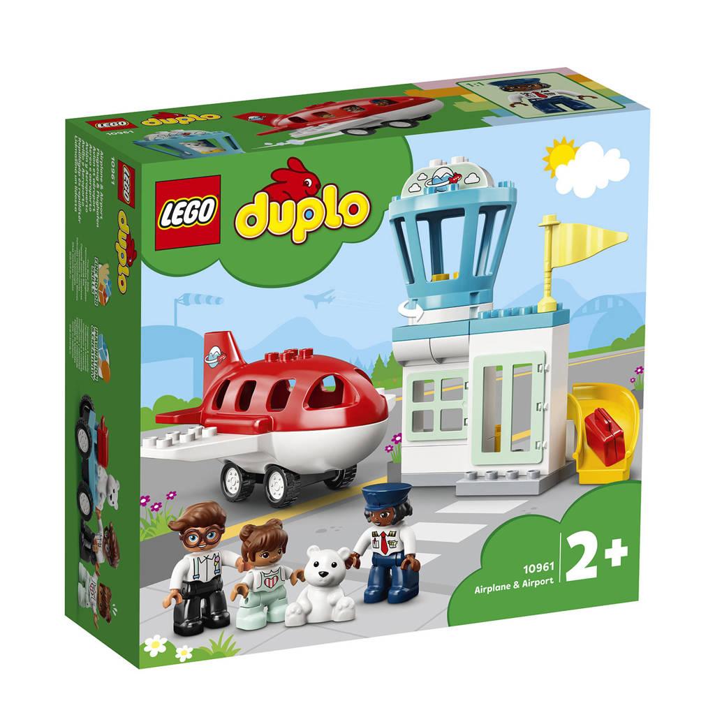 LEGO Duplo Vliegtuig & vliegveld 10961