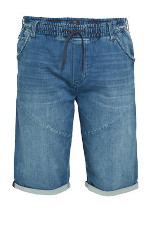 regular fit short blauw