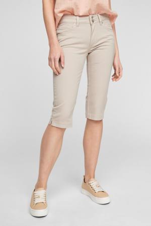 regular fit broek beige