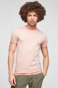 Q/S designed by dip-dye T-shirt lichtroze, Lichtroze