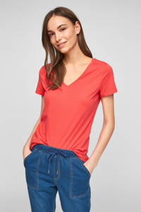 Q/S designed by T-shirt rood, Rood