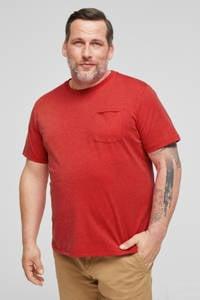 s.Oliver Big Size T-shirt rood, Rood