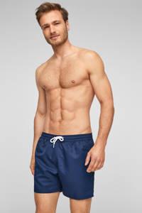 s.Oliver zwemshort donkerblauw, Donkerblauw