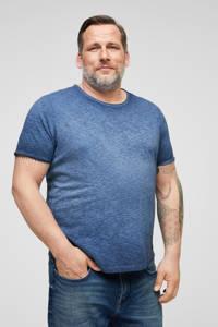 s.Oliver T-shirt blauw, Blauw