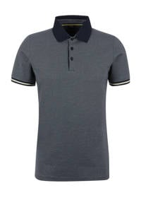 s.Oliver BLACK LABEL regular fit polo donkerblauw, Donkerblauw