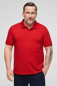 s.Oliver regular fit polo met logo rood, Rood