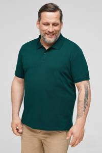 s.Oliver regular fit polo met logo olijfgroen, Olijfgroen