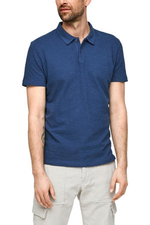 regular fit polo blauw