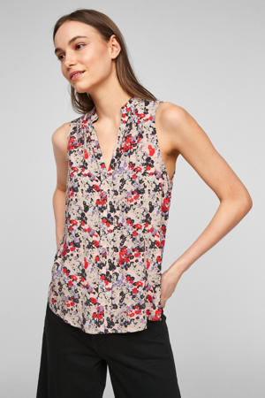 top met all over print multi