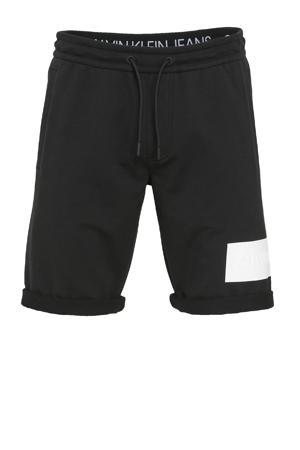 slim fit sweatshort beh-ck black