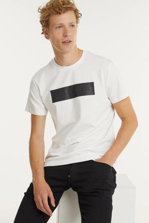 T-shirt met biologisch katoen wit