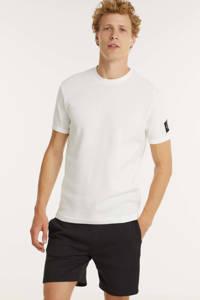 CALVIN KLEIN JEANS T-shirt van biologisch katoen wit, Wit