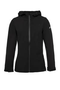 Scapino Mountain Peak softshell jas zwart, Zwart