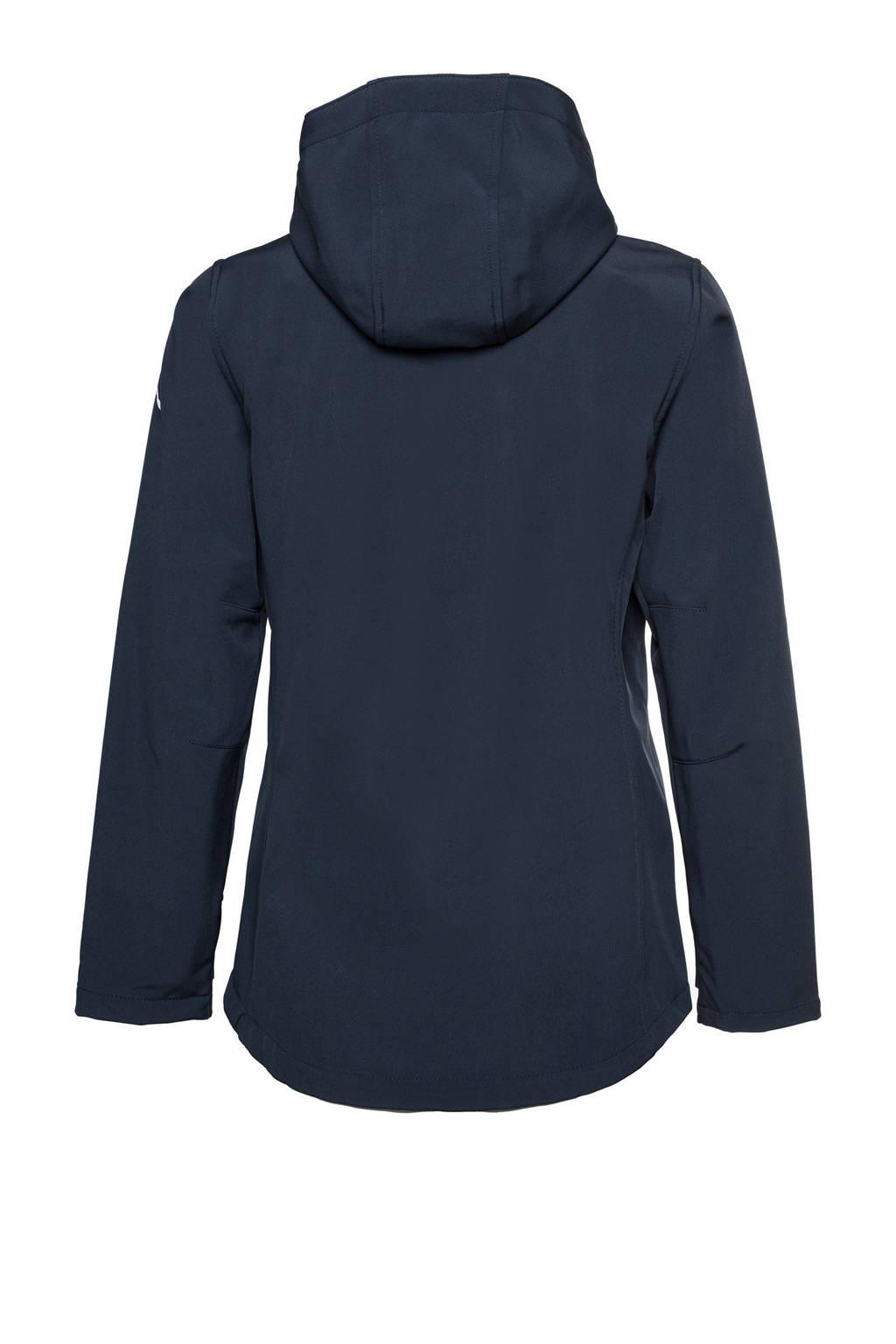 Scapino Mountain Peak softshell jas donkerblauw, Donkerblauw
