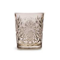 Libbey waterglas Hobstar (Ø8,9 cm), Bruin