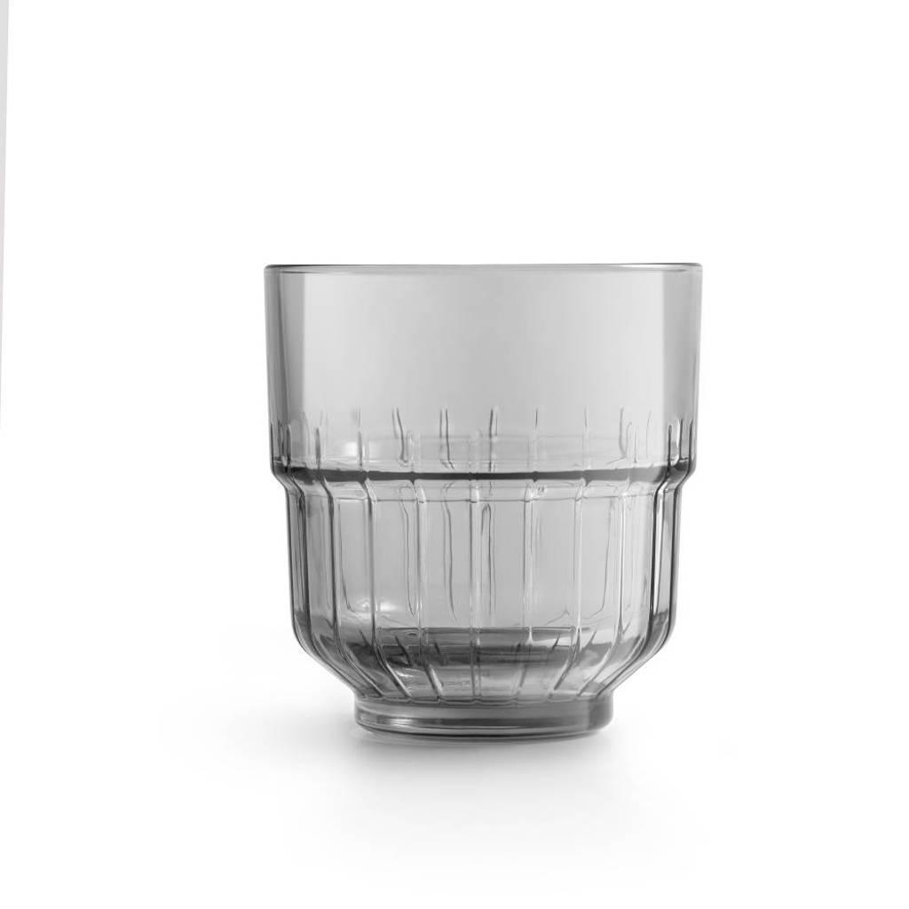 Libbey waterglas LinQ (Ø8,8 cm), Grijs