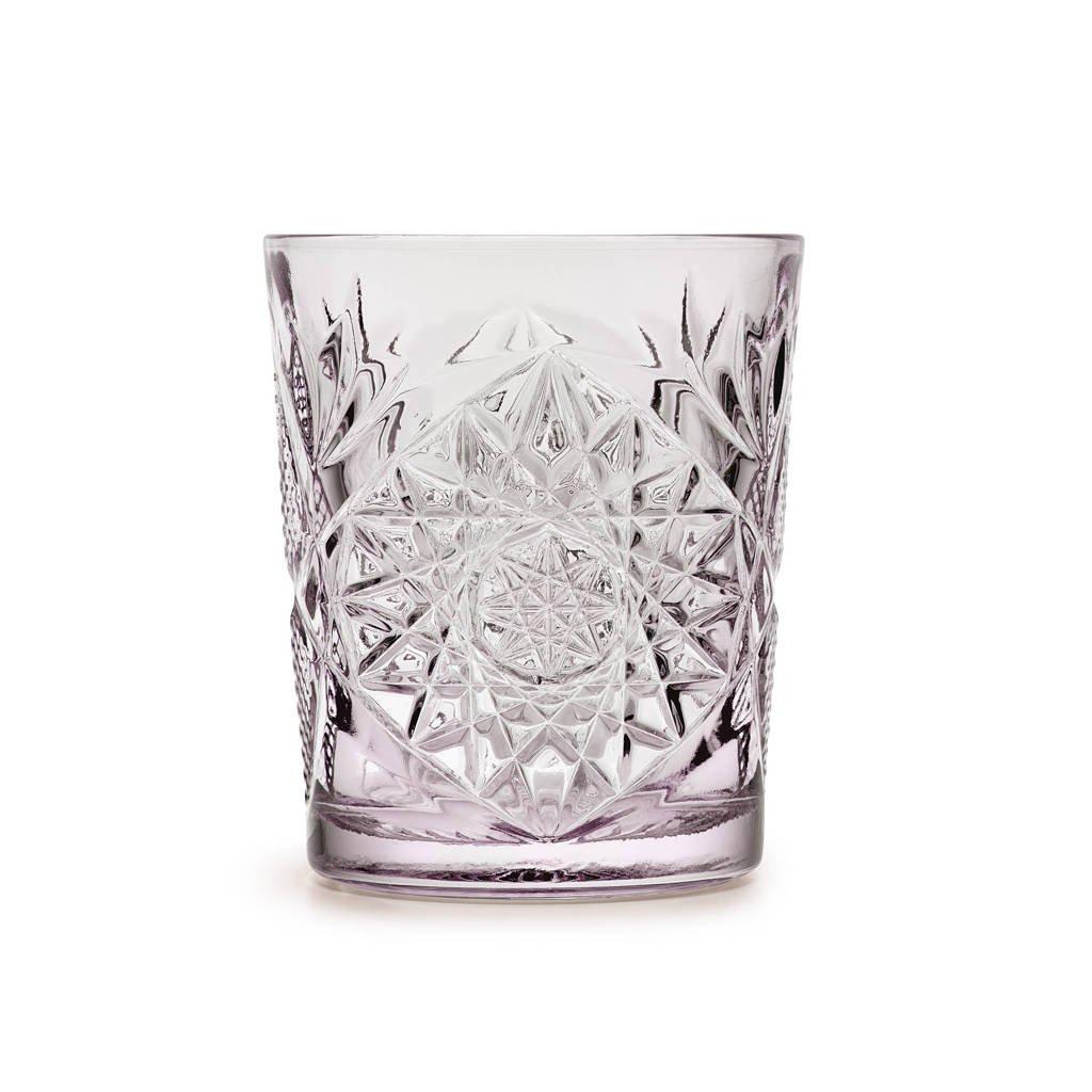 Libbey waterglas Hobstar (Ø8,9 cm), Paars