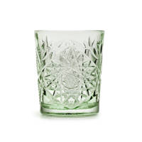 Libbey waterglas Hobstar (Ø8,9 cm), Groen